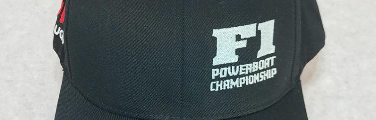 NGK F1 Powerboat Championship Flex Fit Black Hat