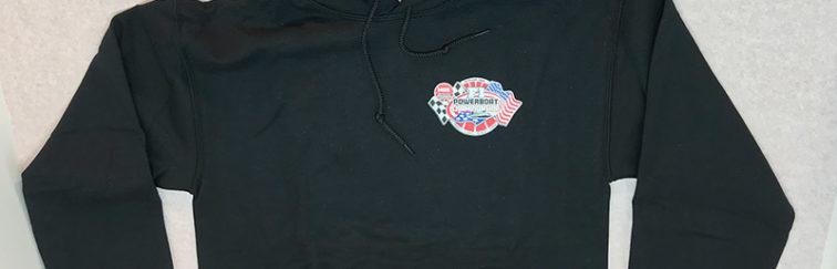 NGK F1 Powerboat Championship Black Hoodie Sweatshirt