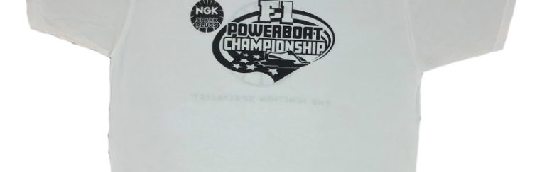 NGK F1 Powerboat Championship Crew TShirt