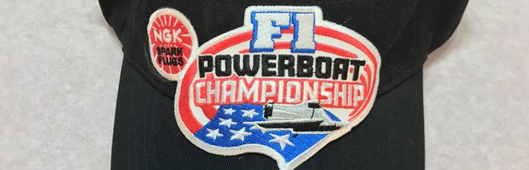 NGK F1 Powerboat Championship Visor